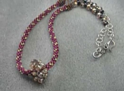 French Knitting Jewellery Tutorials : Images about french knitting jewelry on pinterest