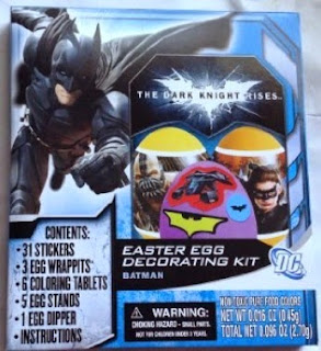 Click here to purchase The Dark Knight Rises Easter Egg Decorating Kit at Amazon!