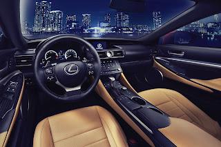 Lexus RC 2014 interni