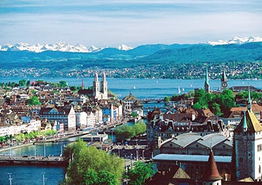 City of Zurich in Switzerland 10 cities to visit in the year 2014
