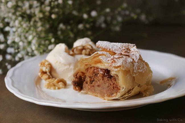 tarta de manzana apfelstrudel
