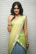 Adah sharma glam pics in saree-thumbnail-7