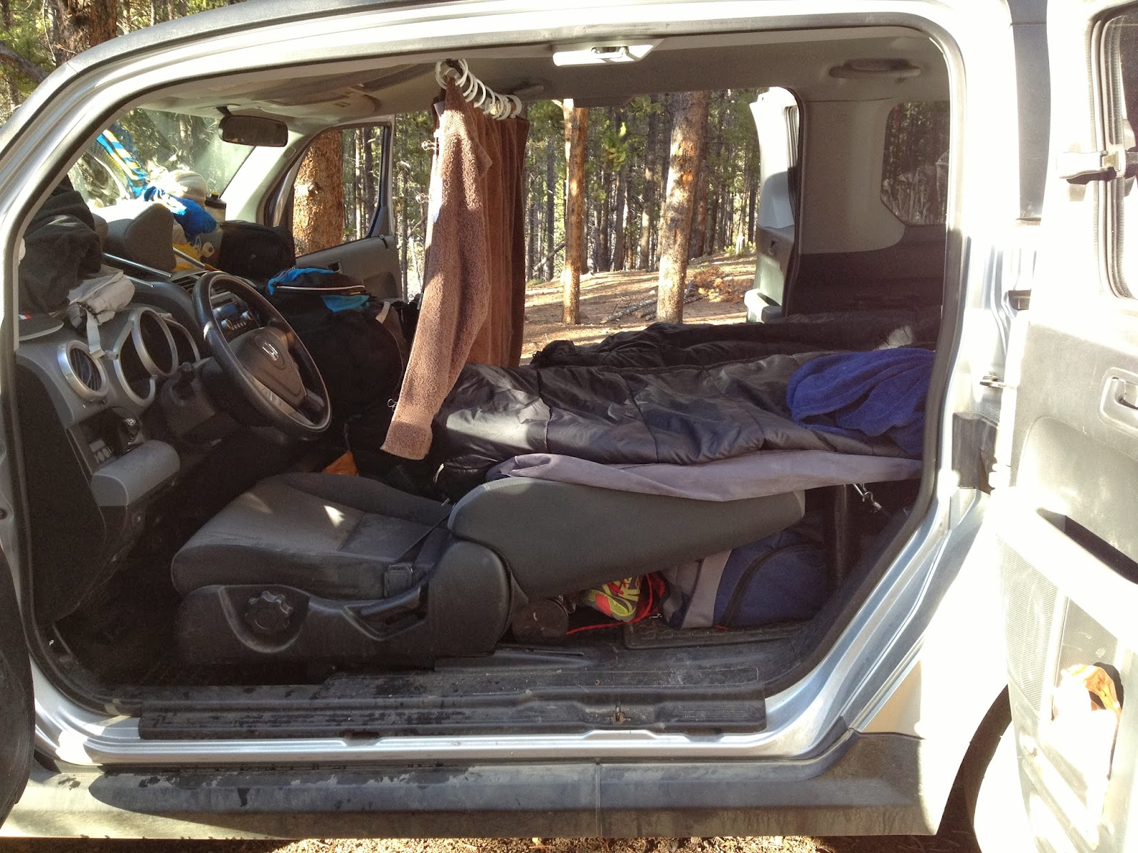 Colorado Adventures Honda Element Camper Platform