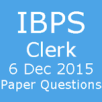IBPS Clerk Exam Asked Questions