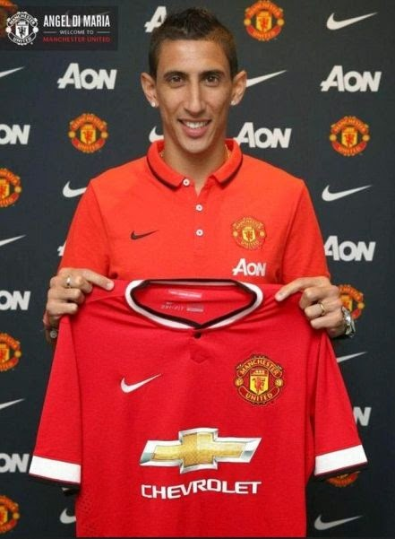 Angel Di Maria Officially Joining Manchester United