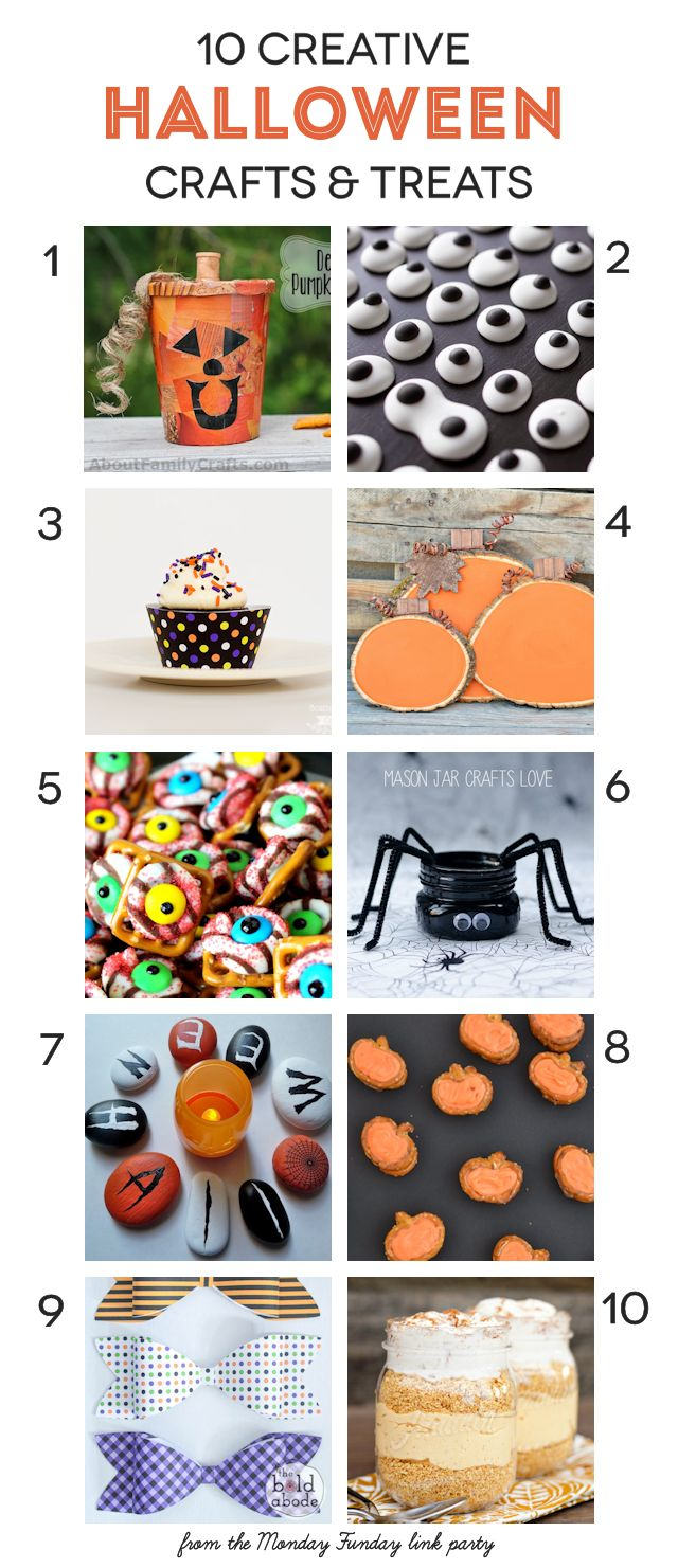 10 Creative Halloween Crafts and Treats | www.settingforfour.com