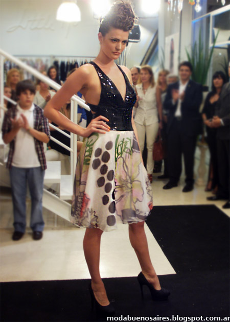 vestidos de fiesta moda 2013 Maureene Dinar 2013