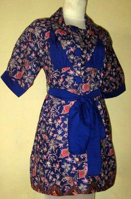 Blus Nigin Baju Batik Remaja Ceria Desain Dan Produksi