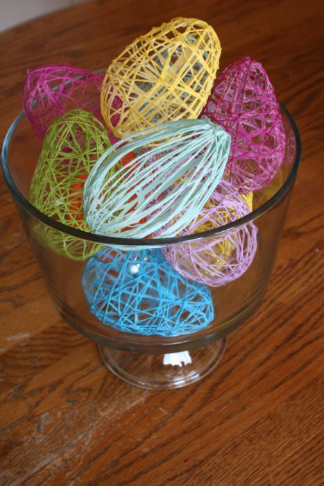 Someday crafts starched string eggs