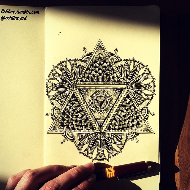 23-Celiline-Hand-Drawn-Zentangle-Doodles-Illustrations-Drawings-www-designstack-co