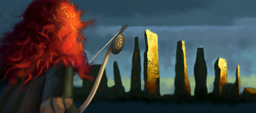 Arte conceitual de Valente, da Pixar