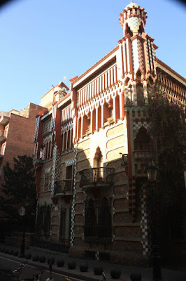 Casa Vicens designed by Gaudí in Barcelona