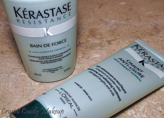 Bain de Force et Ciment Anti-Usure de Kérastase