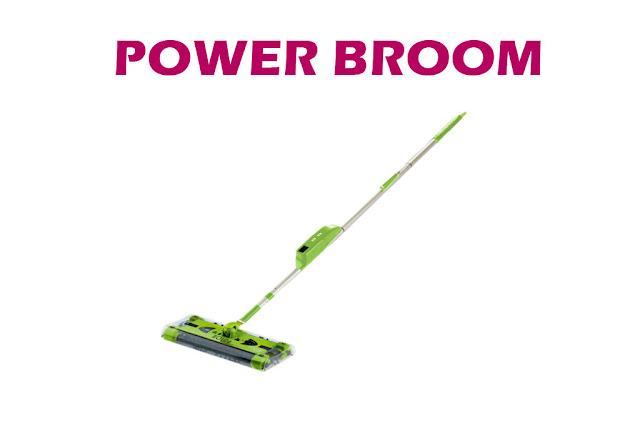 Sapu Elektrik Praktis Power Broom Bolde Hanya 220rb