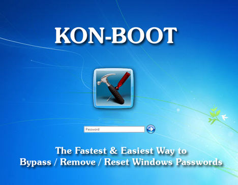 Kon-Boot Crack Version (Login as far as Windows Without Knowing ochreous Changing the Current Password)