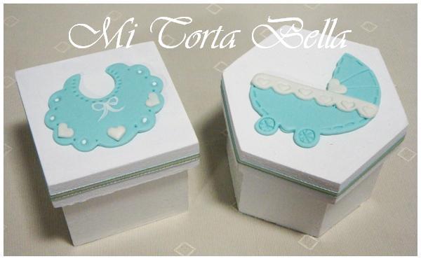 Mi Torta Bella: Recuerdos para Baby Shower y Bautismo - Cajitas ...