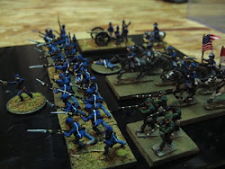 My 15mm Union Battle line.