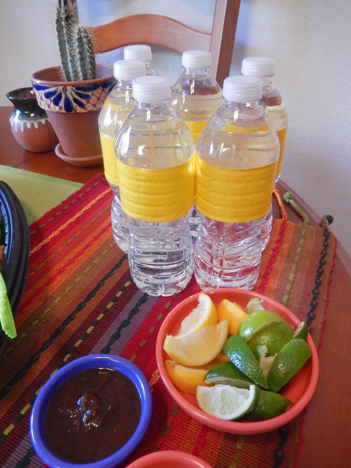 Water%2BLemon%2BLime%2BCrafty%2BBottles Weight Loss Recipes Healthy Meetings (or Parties) Made Easy