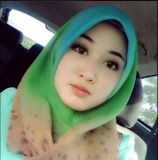 22 Foto Gadis Berjilbab Scha Mieymiey dan Biodata Lengkapnya