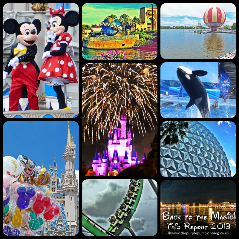Back to the Magic, Walt #Disney World Trip Report 2013!