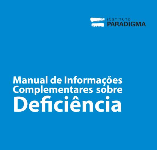 Manual de Informações Complementares sobre Deficiência