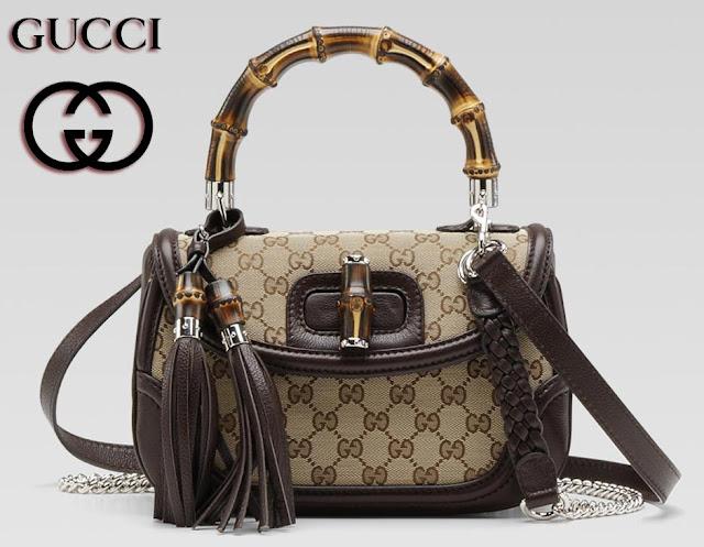 Bamboo Gucci Handbag
