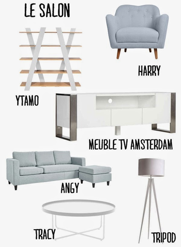 sélection meubles pour un salon