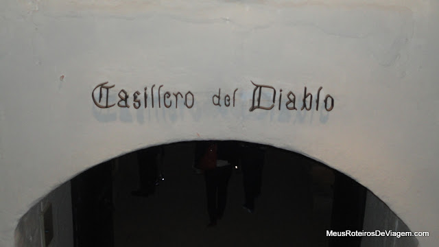 Entrada da adega Casillero del Diablo