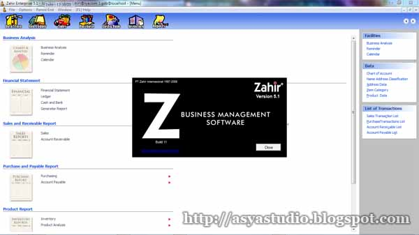zahir accounting software full version