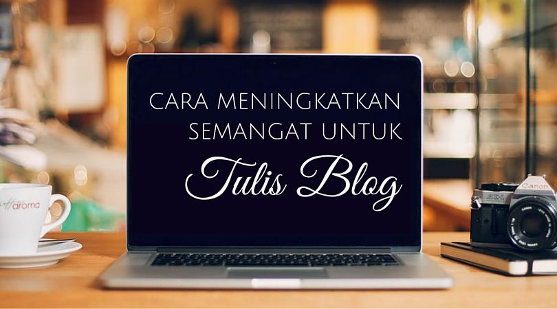 Tulis Blog