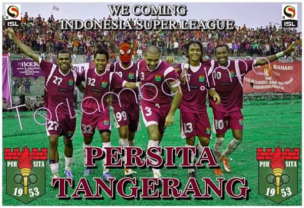 Persita Tanggerang VS Persiwa Wamena ISL 2013