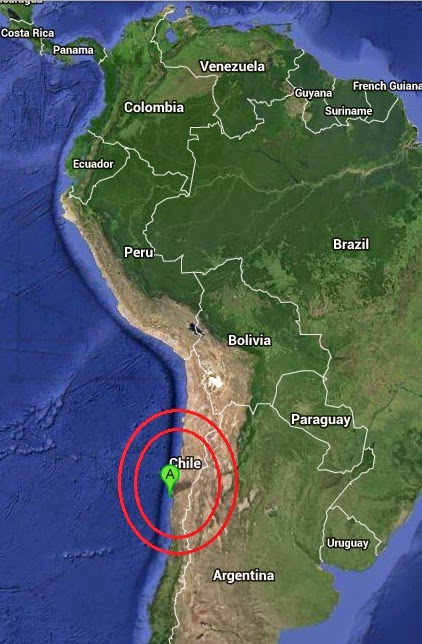 Magnitude 4.3 Earthquake of Coquimbo, Chile 2014-10-19