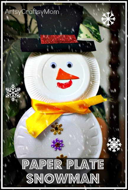 Paper plate snowman & cup reindeer   age5 7 age3 5  Craft Classes Christmas Crafts
