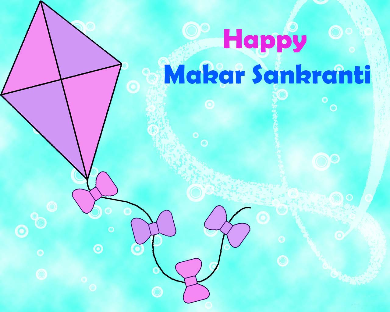 Hd Wallpaper Graphic Happy Makar Sankranti And Happy Uttarayan