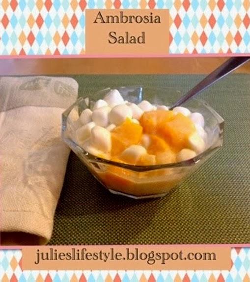 Ambrosia Salad @ Julie's Lifestyle