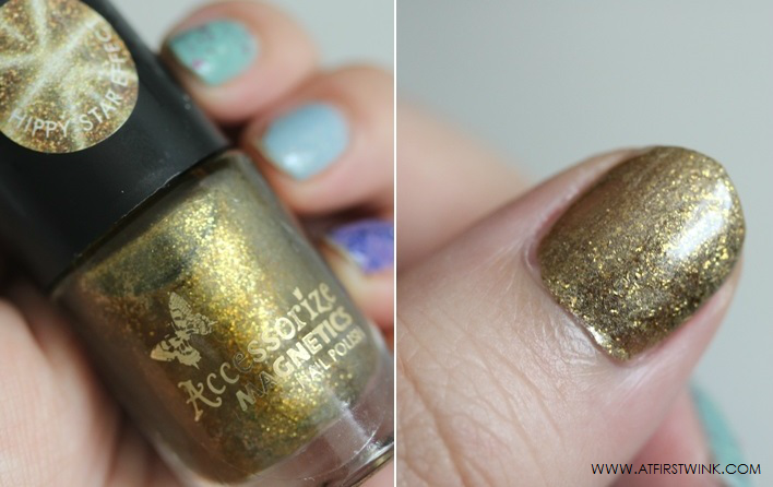 Accessorize magnetics nail polish - hippy star effect