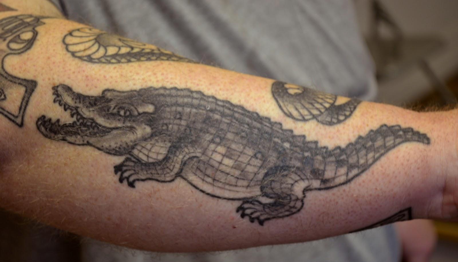 Alligator Tattoos