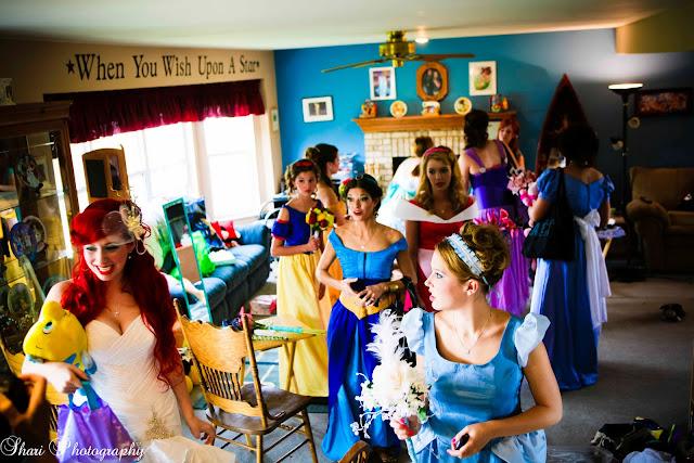 The Ultimate At Home Disney Wedding: Jaime + Chris