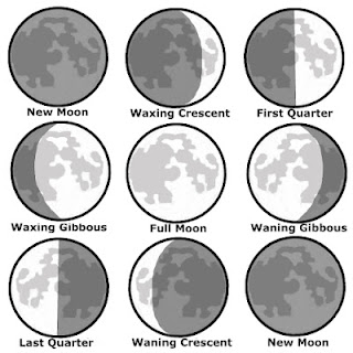 phases of the moon autumnal fall equinox NAMC montessori activity ideas