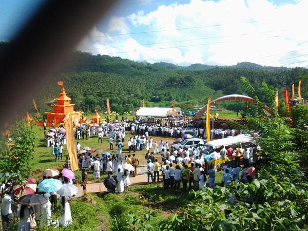 Bowatte Indrarathana funeral