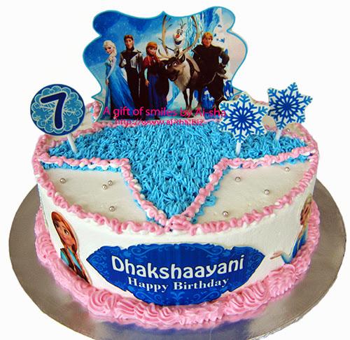 Birthday Cake Disney Frozen