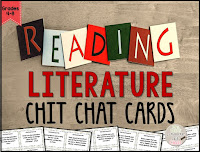 https://www.teacherspayteachers.com/Product/Reading-Literature-Chit-Chat-Cards-for-Grades-4-8-1970897