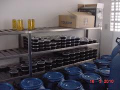 Produtos da fabriqueta do Sítio Pajeú