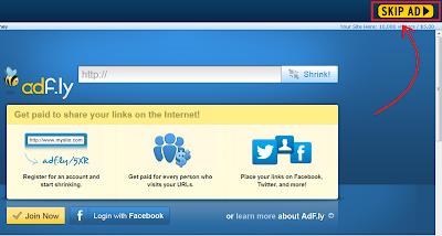 Langkah Kedua Download di Adf.ly | ApKLoVeRz