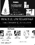Death of the Illuminati Playbill