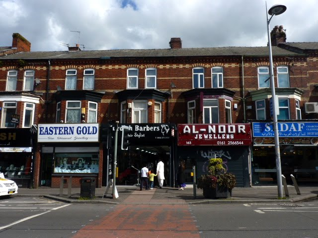 Curry Mile , Manchester , Barrio Indio