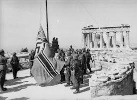 H Πρώτη πράξη Αντίστασης 1941 όπου κατέβησαν την σβάστικα