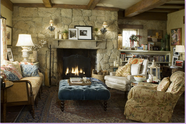 Magnificent English Cottage Style Living Rooms 644 x 431 · 752 kB · png