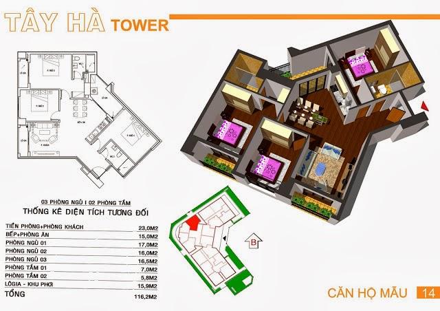 Chung Cư Tây Hà Tower, chung cu tay ha tower, 19