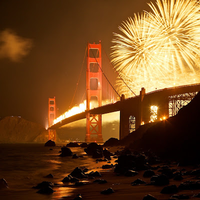 75 aniversario puente Golden Gate
